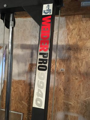 Weider Pro Exercise Equipment for Sale in Detroit, MI