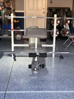 Weights and bench for Sale in Las Vegas, NV