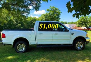 ✅$1,OOO For sale URGENT 2002 Ford F150 Clean title. Everything works well inside and out ,Engine V8, Runs And Drives Great With No Issues! ✅ for Sale in Washington, DC