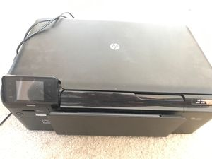 HP photo smart wireless printer with cables and manual for Sale in Chantilly, VA