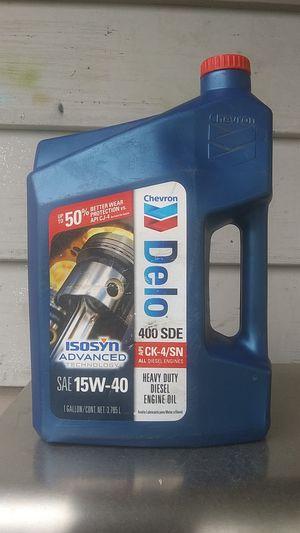 Chevron Delo 400 SDE SAE 15W-40 for Sale in Vancouver, WA