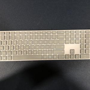 Microsoft Modern Keyboard With Fingerprint for Sale in Bellevue, WA