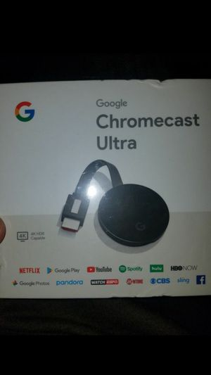 Google chromecast ultra for Sale in CA, US
