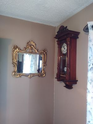 Antique wall clock for Sale in Aurora, IL