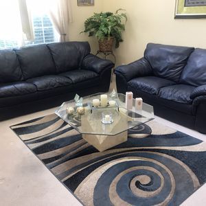 Furniture Lot : includes loveseat and sofa , dining room table, living room tables(3), rug, kitchen table with four chairs for Sale in Denver, CO