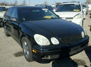 Black 1999 LEXUS GS 300. Parting out!!! for Sale in Rancho Cordova, CA
