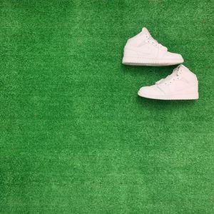 Jordan 1 retro triple white size 5.5y for Sale in Hialeah, FL