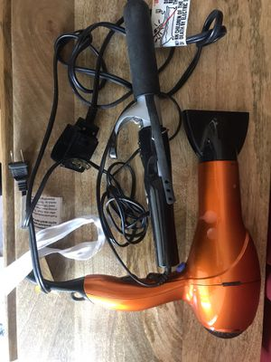 Hair dryer & hair curler for Sale in Jersey City, NJ