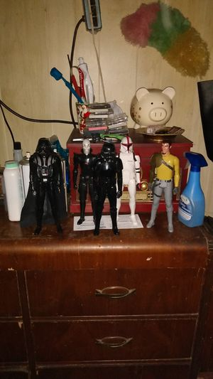 1ft tall Darth Vader and friend make offer for Sale in South El Monte, CA