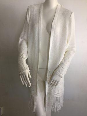 New White Knitted Michael Kors Long Sweater for Sale in Lauderhill, FL