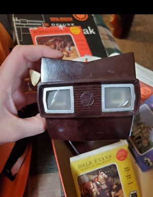 Mid-century view finder deluxe in original box with 1 Disney reel for Sale in Columbus, OH