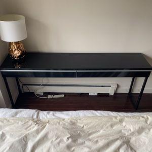 High Gloss Black Desk for Sale in New York, NY