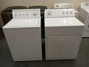 Kenmore / Washer & Dryer / Mitch match set! Both clean in good condition! for Sale in Denver, CO