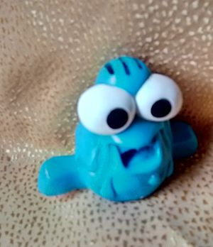 Vintage blue character finger puppet toy for Sale in Tallahassee, FL
