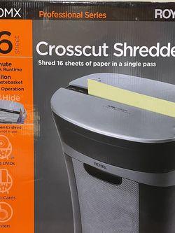 Royal Crosscut Shredder for Sale in Staten Island,  NY