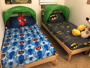 IKEA twin Tarva beds for Sale in Olney, MD