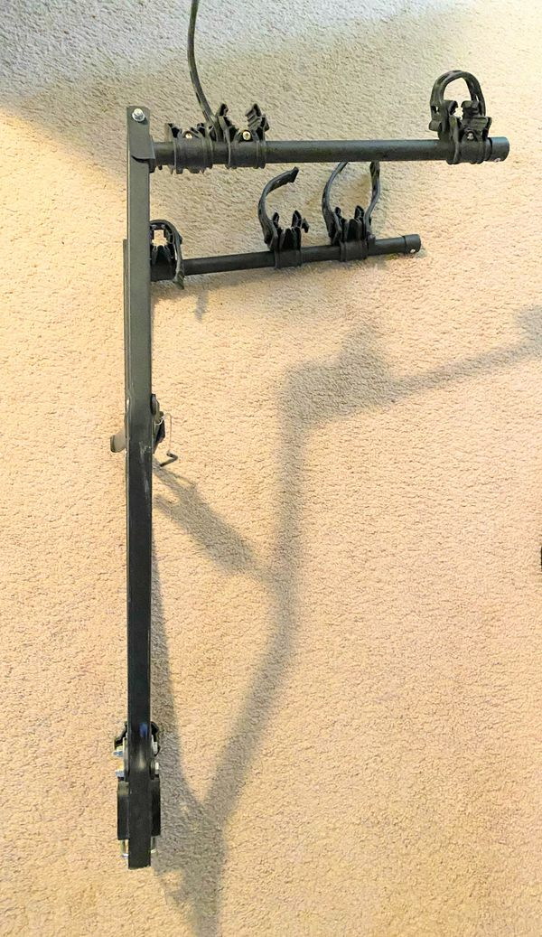 Tow Bar Mount Two Bicycle Rack