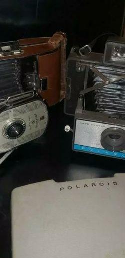 2 Vintage Polaroid Cameras for Sale in Nashville,  TN