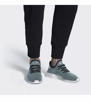 Adidas Originals Deerupt Runner Parley Black Sneakers CQ2623 Mens Size 8 New without box for Sale in Buckhannon, WV