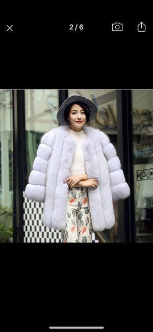Faux fur jacket for Sale in Washington, DC