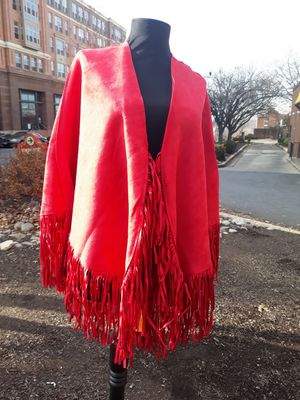 Fringe ponchos for Sale in Washington, DC