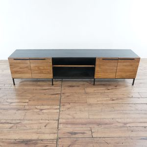 """Crate & Barrel Rigby Natural 80.5"""" Large Media Console (1027892) for Sale in South San Francisco, CA"""