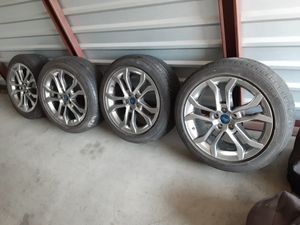 18x9 FORD FUSION WHEELS AND TIRES for Sale in Irvine, CA