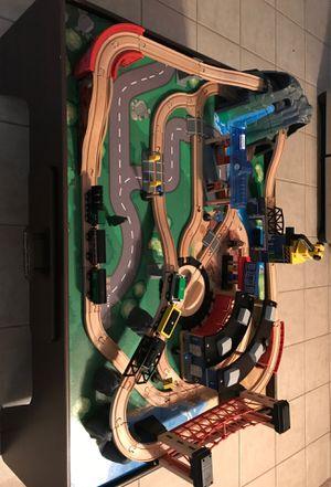 Imagination train set and table for Sale in Chesapeake, VA