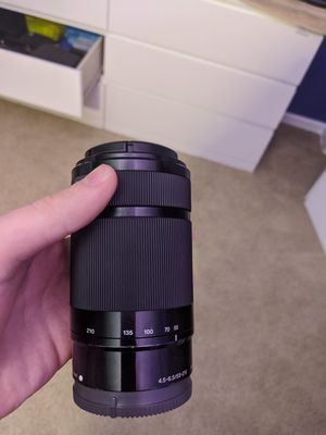 Sony E Mount Lens for Sale in Mount Prospect, IL