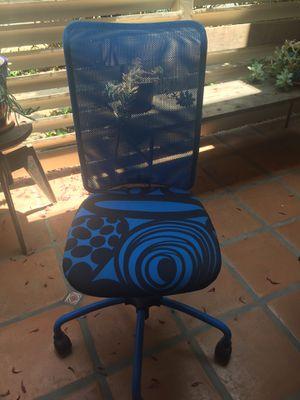 Kids Desk Homework Swivel Chair Royal Blue IKEA for Sale in Santa Monica, CA