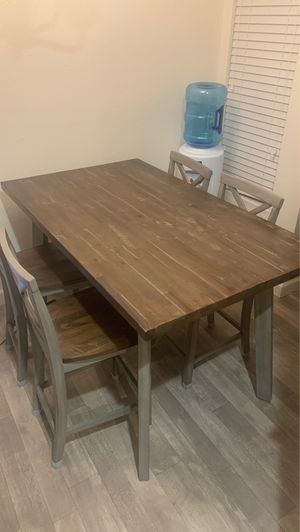 """Rustic farmhouse Counter height dining table 36 """"x 60"""" for Sale in Del Mar, CA"""