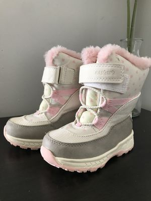 Carters Toddler Snow Boots - Size 7 for Sale in Oakland Park, FL