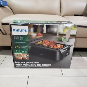 Philips Indoor Smokeless Bbq Grill for Sale in Los Angeles, CA