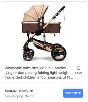 Wisesonle baby stroller for Sale in Bloomington, CA