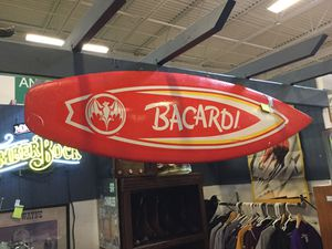 "Bacardi advertising foam surfboard sign 65"" for Sale in Goodyear, AZ"