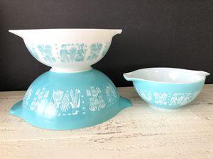 Pyrex Butterprint Bowl Set for Sale in Newport Beach, CA