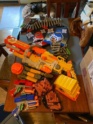 Assortment of Nerf guns for Sale in OR, US