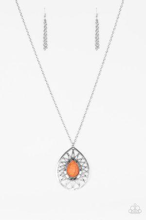 Orange moonstone necklace for Sale in Visalia, CA