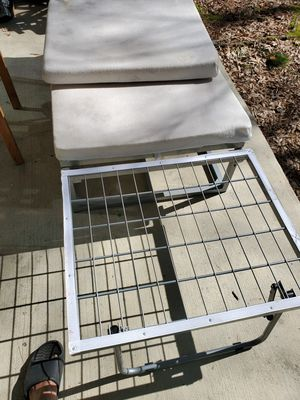 Single metal frame bed cum seater foldable for Sale in Richmond, VA