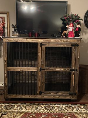 Custom made dog kennel (PRICE NEGOTIABLE) for Sale in TIMBERCRK CYN, TX