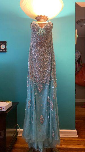 Blue prom dress $80.00 size 8/ Pink dress #60.00 size 6 for Sale in Teaneck, NJ