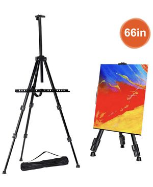 """Easel Artist Easel Tripod with Portable Bag Adjustable Height from 21"""" to 66"""" for Table-Top/Floor Painting,Displaying,Drawing for Sale in Redlands, CA"""