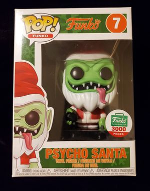 Psycho santa funko pop !!! for Sale in Phoenix, AZ
