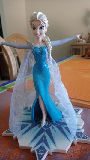 Disney Parks Elsa Figurine for Sale in Orlando, FL