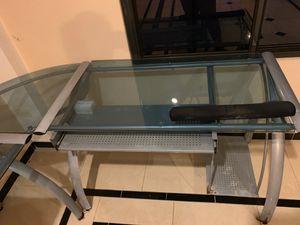 Glass desk for Sale in Bellaire, TX