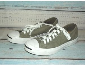 CONVERSE Jack Purcell LTT OX Surplus Green Suede Sneakers Mens Size 8 for Sale in Reston, VA