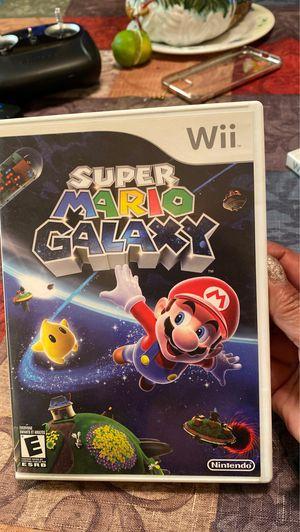 Wii súper Mario galaxy for Sale in Cerritos, CA