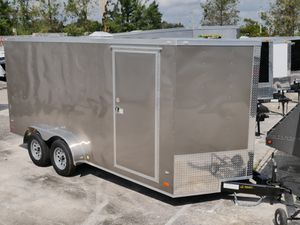 7x16 Enclosed Trailer for Sale in Fort Lauderdale, FL