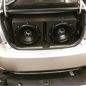"15"" Audio Pipe bass speakers enclosed for Sale in Boston, MA"