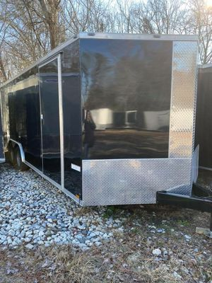 ENCLOSED VNOSE TRAILERS ALL SIZES AND COLORS 20FT24FT 28FT 32FT IN STOCK FREE DELIVERY for Sale in Burlington, VT